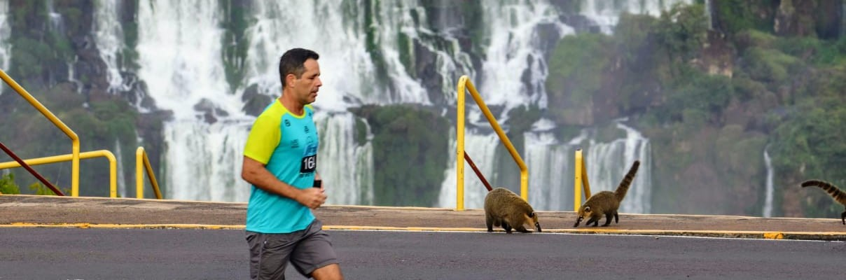 Quatro mil corredores atenderam ao chamado da natureza em Foz do Iguaçu