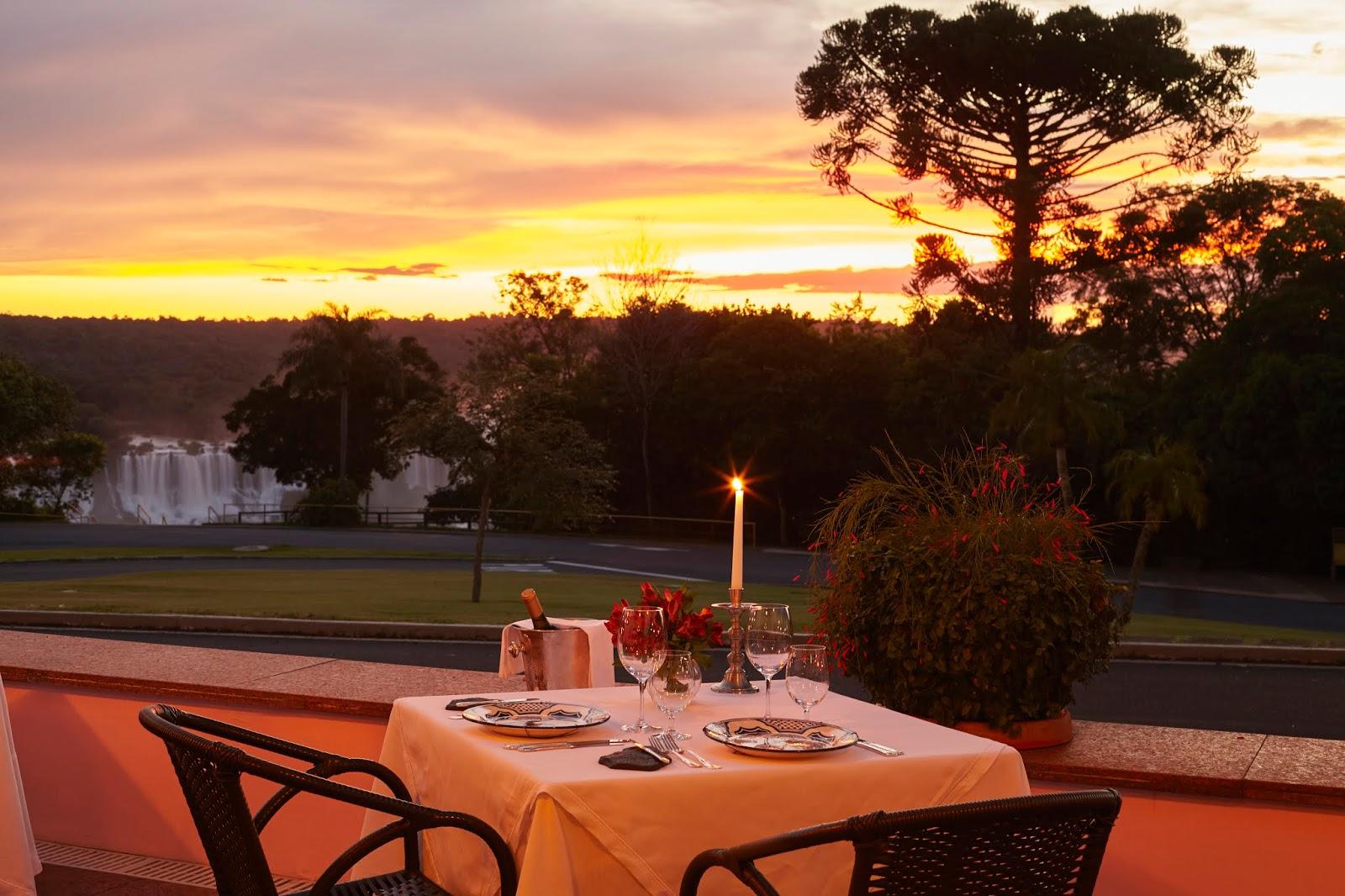 Sunset Belmond Hotel das Cataratas
