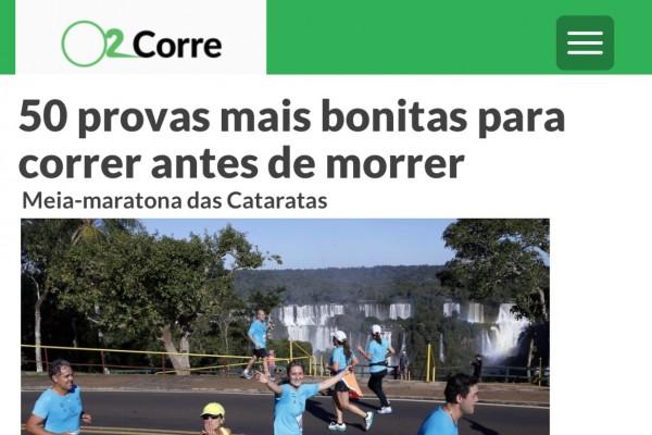Meia das Cataratas é uma das 50 provas mais bonitas para correr antes de morrer