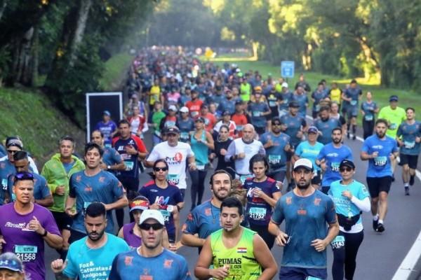 Resultados da 12° Meia Maratona das Cataratas nas Cataratas do Iguaçu